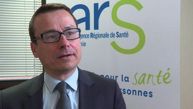 Pierre Ricordeau, directeur de l'Agence régionale de santé d'Occitanie / © FTV