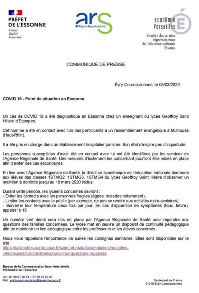 Préfecture Essonne
