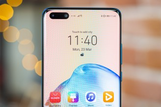 Huawei P40 Pro display and front camera assembly