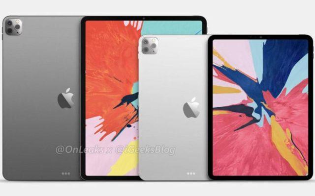 iPad Pro 2020 rendu OnLeaks