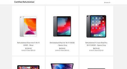 iPad reconditionne