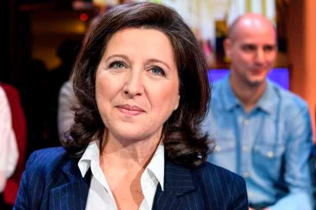 Agnès Buzyn, le 4 mars, avant le débat télévisé entre les candidats à la mairie de Paris.