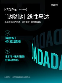 Redmi K30 Pro specs posters
