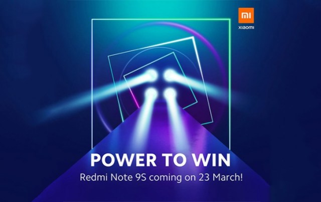 Redmi Note 9S to launch on March 23, likely a rebranded Note 9 Pro