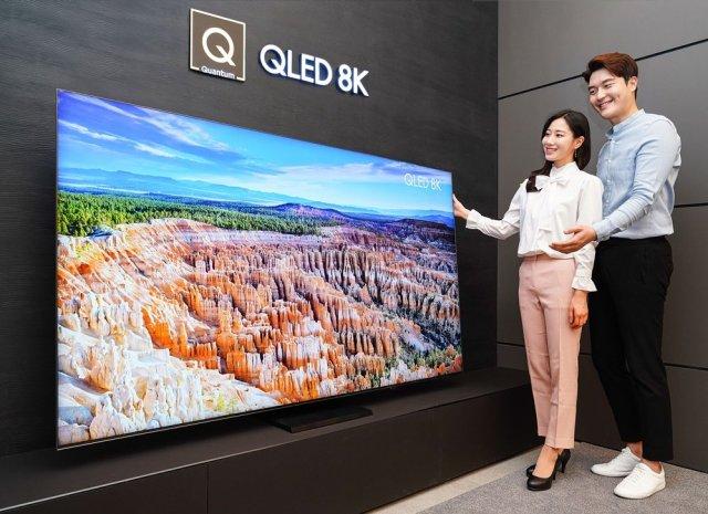 Samsung QT950S 8K QLED TV South Korea
