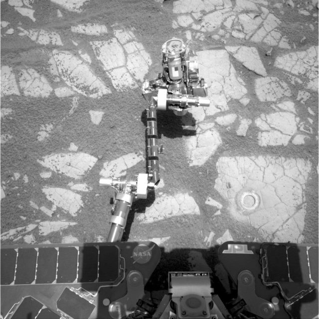 opportunity rover arm