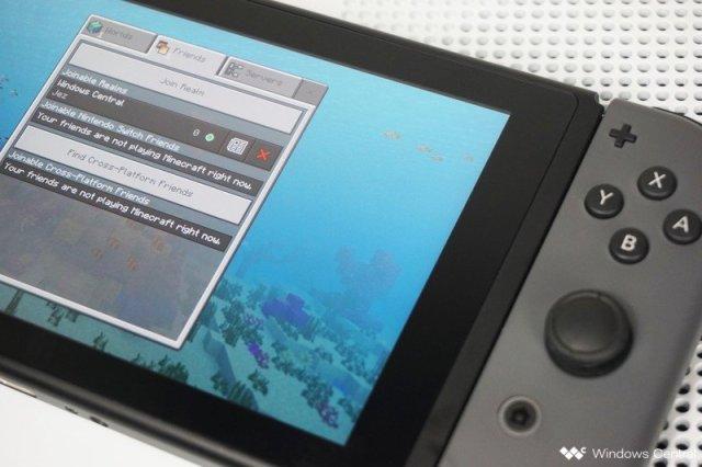 Minecraft on Switch