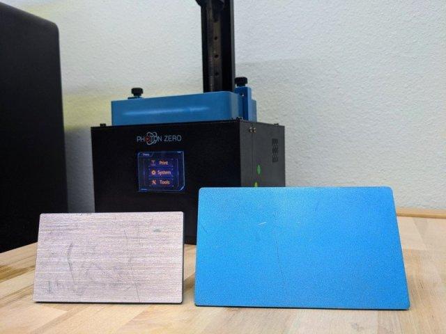 Photon Zero Build Plate