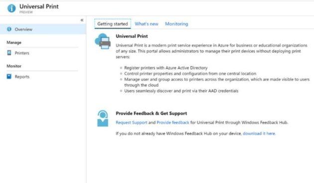 Universal Print : le service d'impression en ligne de Microsoft en preview