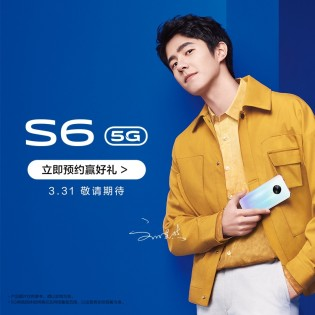 Some more vivo S6 5G promo images