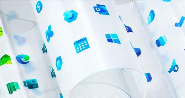 "Windows 10 et les icônes ""Fluent Design"""