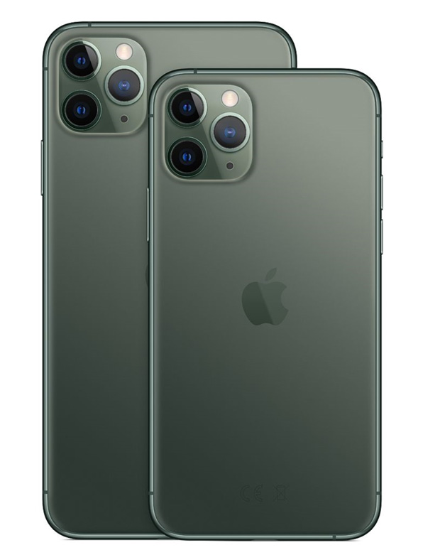 iPhone 11 Pro et 11 Pro Max d'Apple