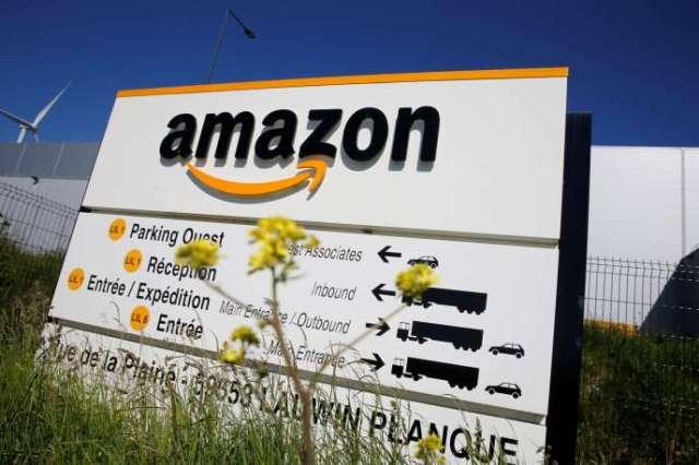 Le site d'Amazon de Lauwin-Planque, dans le Nord.
