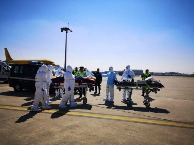 Vendredi 3 avril 2020, de nouveaux malades sont arrivés à Toulouse en provenance du Grand-Est.