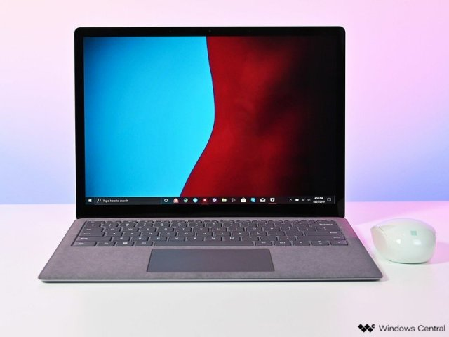 The Surface Laptop 3.