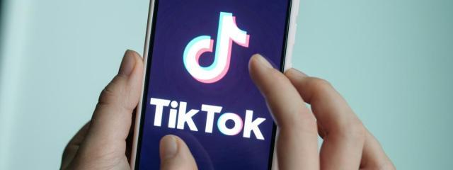 Utilisateur de TikTok.