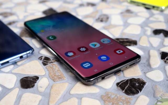 Samsung Galaxy S10 software update