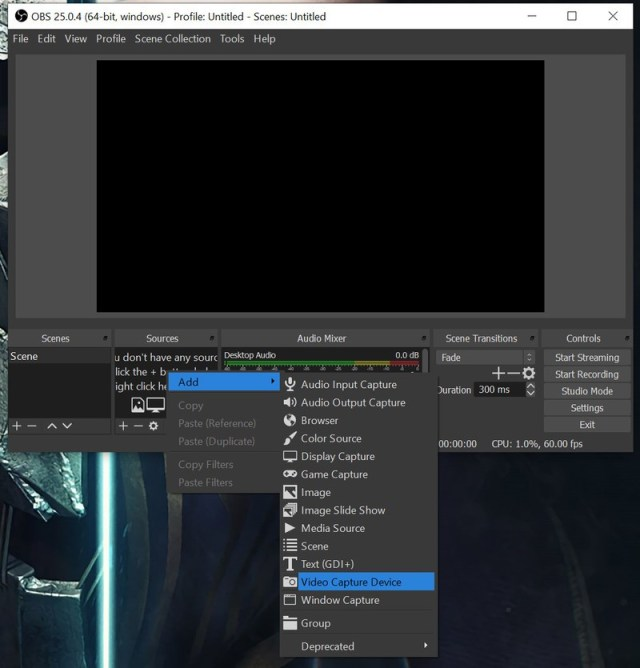 Obs Add Video Capture