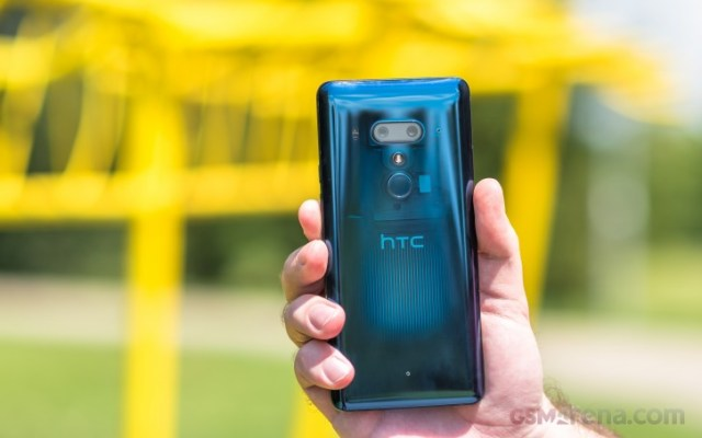 The last HTC phone we've reviewed, the flagship U12+ from 2 years ago