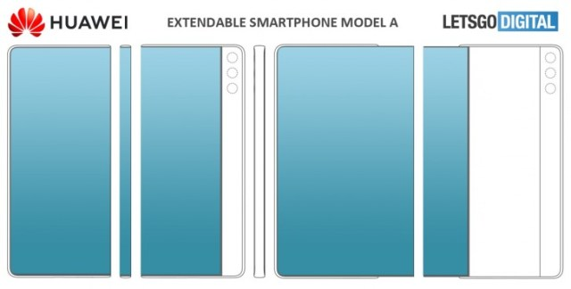 Huawei files two patents for sliding displays