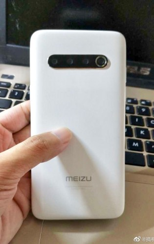 Leaked images of Meizu 17