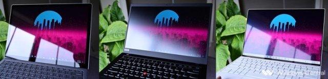 Glossy Matte Antireflect Versus Surface Laptop