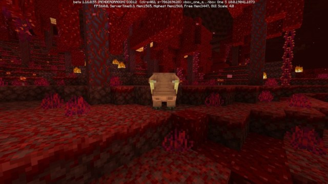 Minecraft Nether Update Beta Hoglin