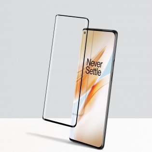 OnePlus 8 with screen protector