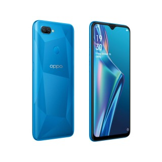 Oppo A12 in blue and black