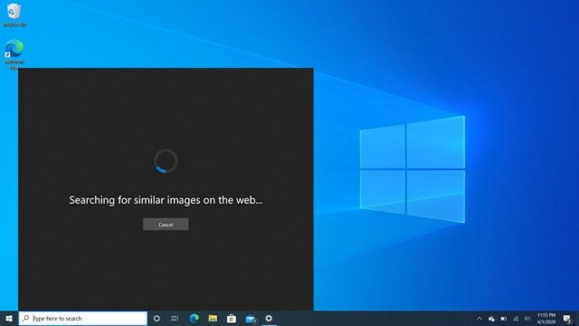 Windows 10 2004 Imagesearch