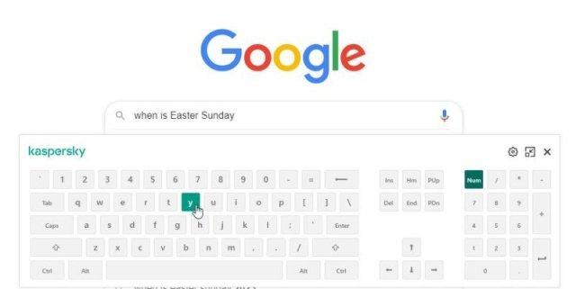 Kaspersky Online Keyboard Edited