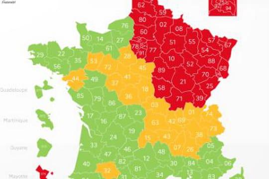 Carte du déconfinement: départements rouges ou verts, le point sur la classification
