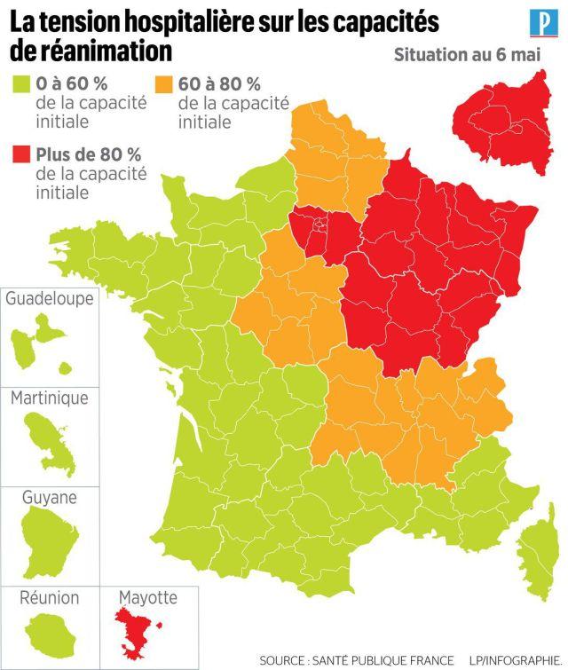 Coronavirus en France : 278 nouveaux décès, 25809 morts depuis le début de l'épidémie