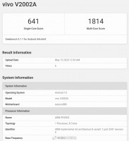 Geekbench 5.1 results: Exynos 880