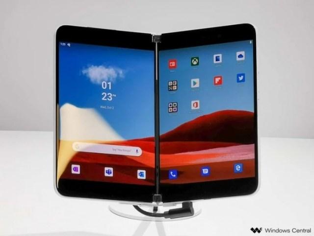 Microsoft Surface Duo specs leak