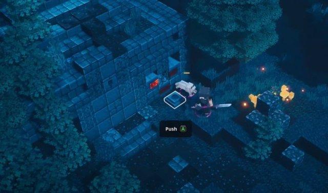 Minecraft Dungeons Creepy Crypt Entrance