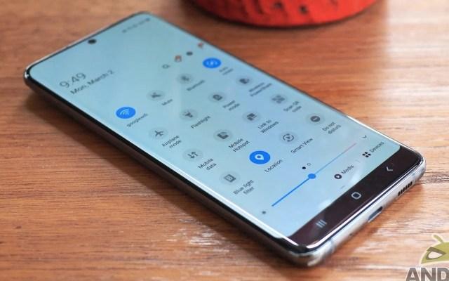 Samsung Galaxy S20 Firmware Update