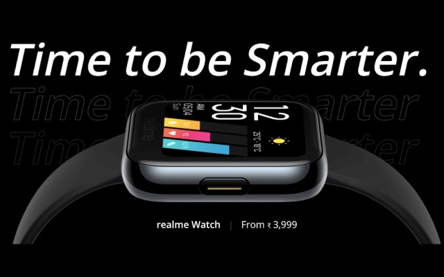 Realme Watch Launch