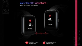 Realme Watch will come with 14 sports modes and heart rate and SpO2 monitoring