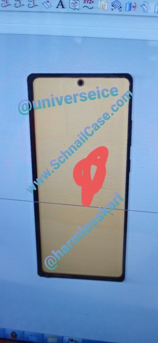 Alleged Galaxy Note20, image source: Weibo