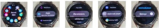 Samsung Galaxy Watch 3 Software UI Tizen
