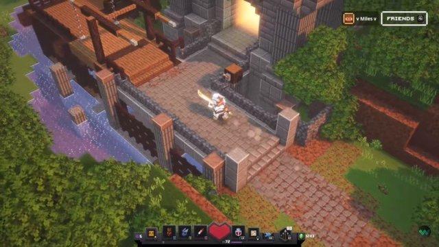 Minecraft Dungeons Drawbridge
