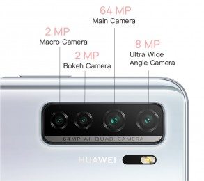 Huawei Nova 7 SE with Kirin 820, quad camera and 40W charging