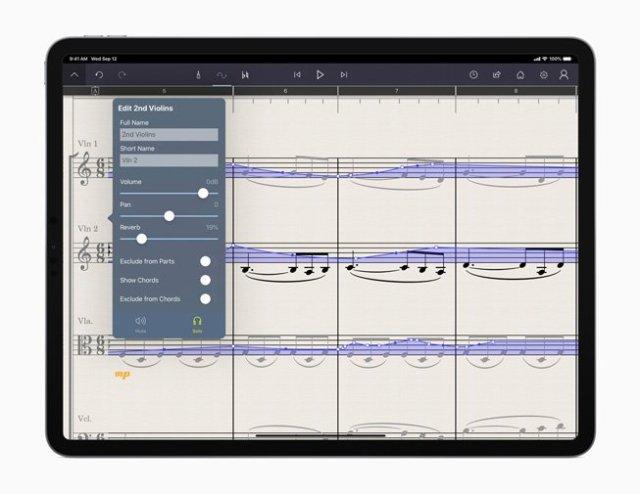 L'appli musicale Staffpad
