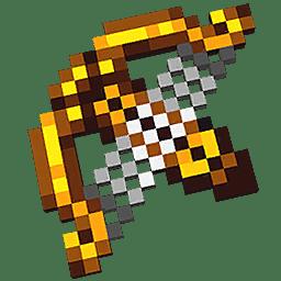 Minecraft Dungeons Harp Crossbow