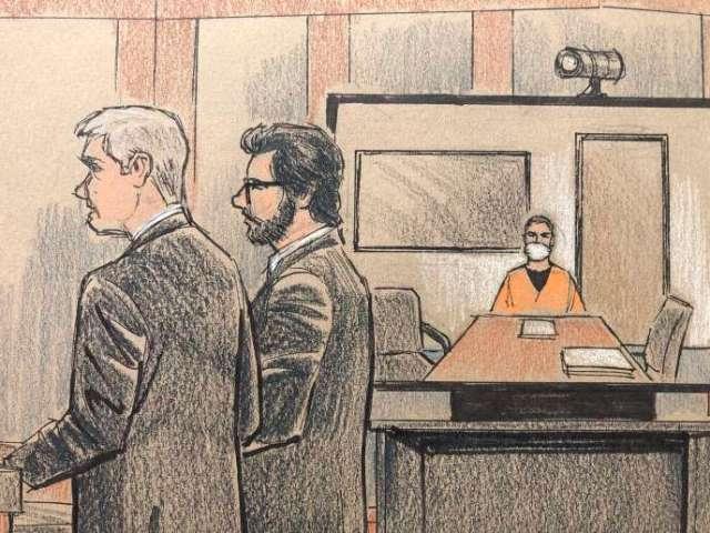 Derek Chauvin, le policier responsable de la mort de George Floyd, a comparu pour la première fois devant la justice américaine, lundi 8 juin, de la prison de Oak Park Heights (Minnesota), par écran interposé.