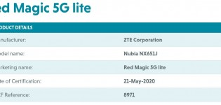 nubia Red Magic 5G Lite certifications