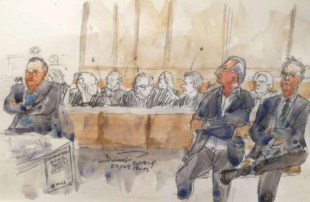 Au procès du Mediator, le 23 septembre 2019, à Paris.