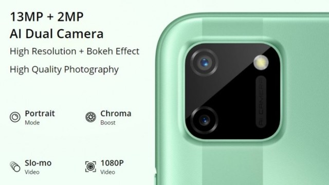 Realme C11 goes official: Helio G35 SoC, dual rear cameras, and 5,000 mAh battery