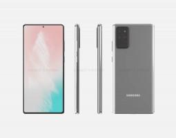 Samsung Galaxy Note20 renders
